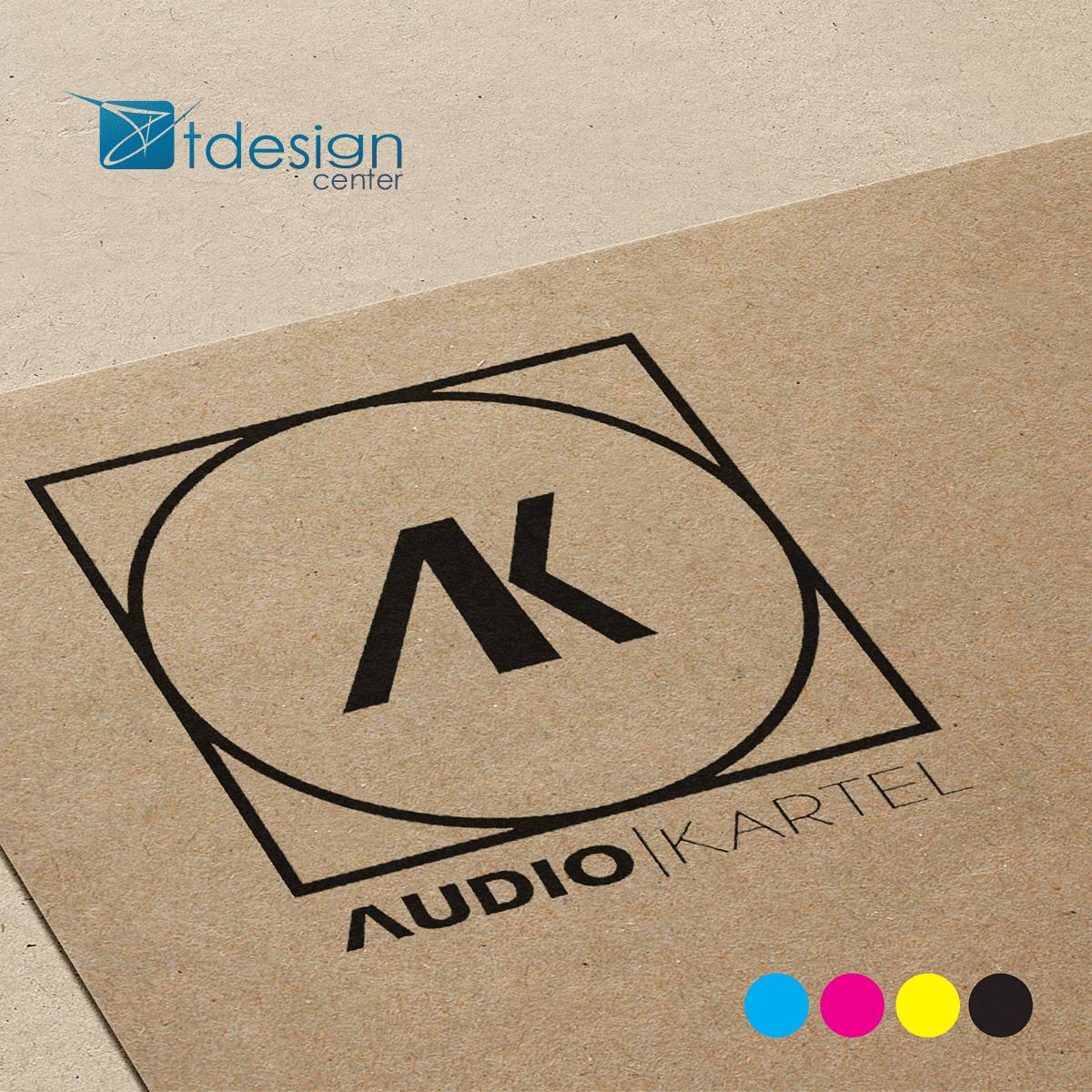 Logo zaprojektowane dla AudioKartel