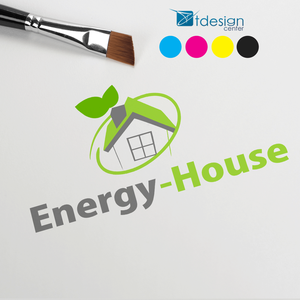 Logo zaprojektowane dla Energy House
