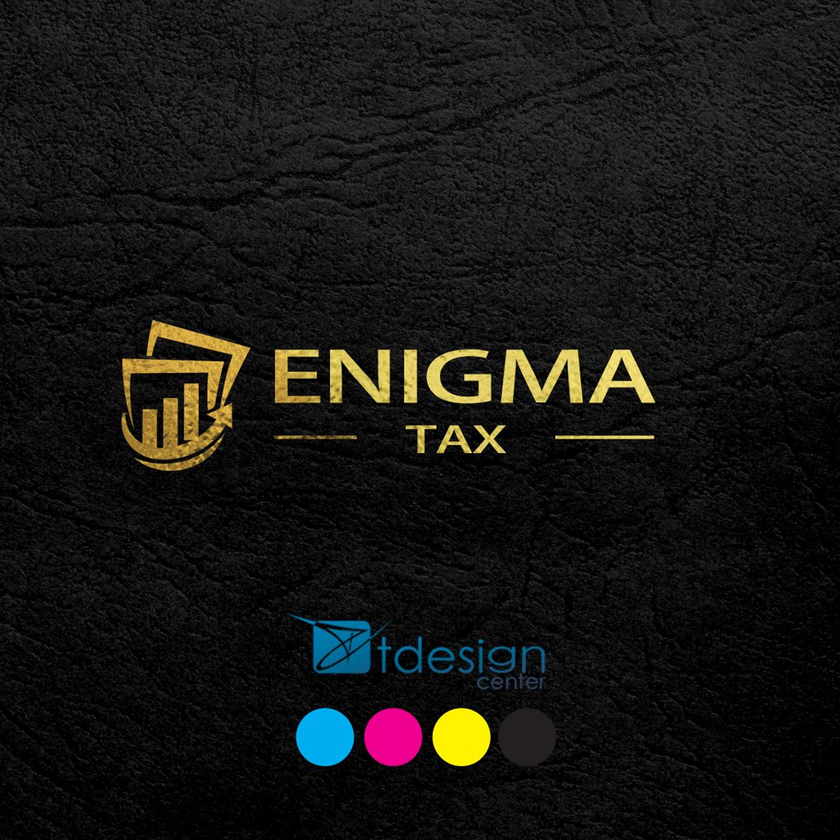Logo zaprojektowane dla firmy Enigma