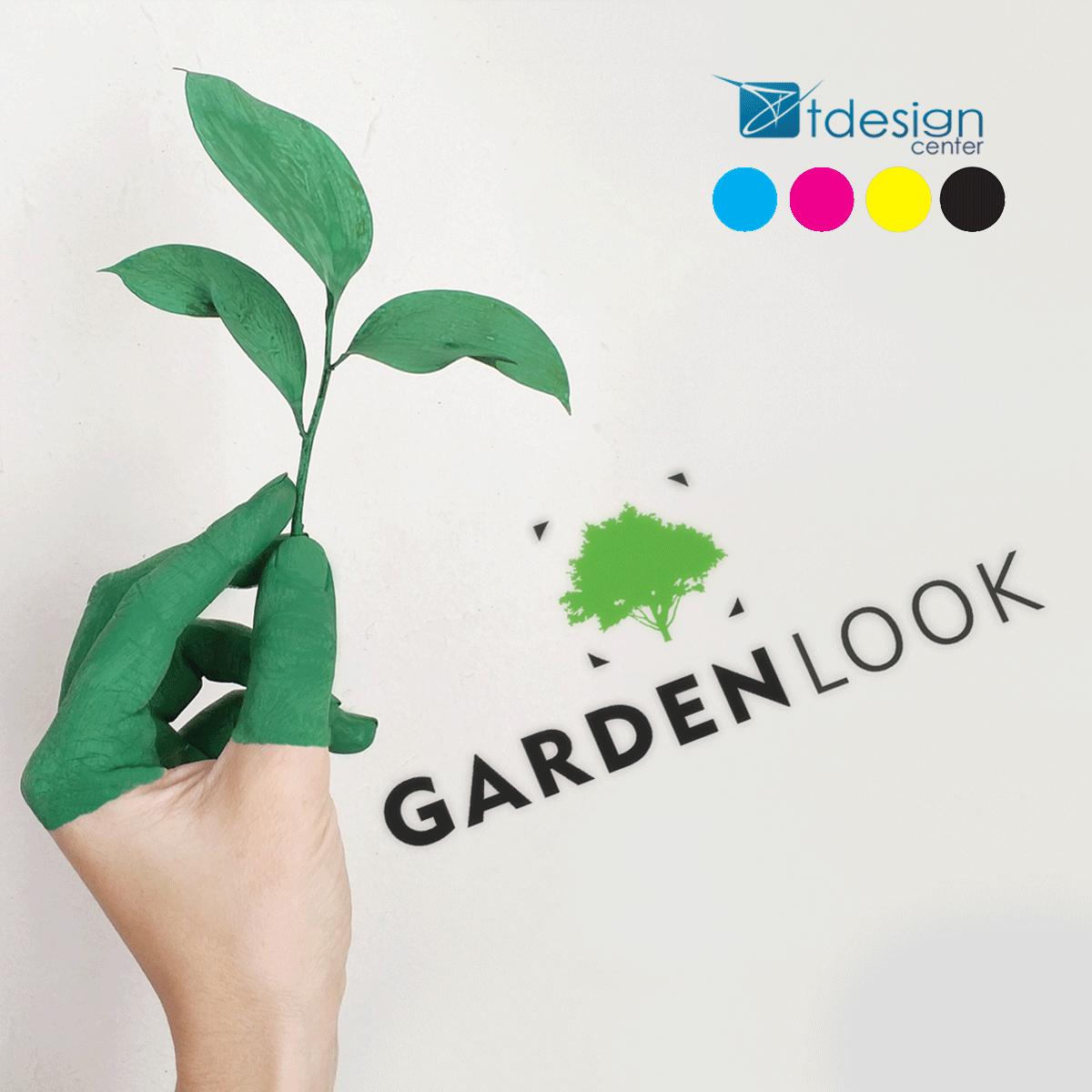 Logo zaprojektowane dla firmy Gardenlook