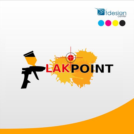 Logo stworzone dla sklepu LakPoint
