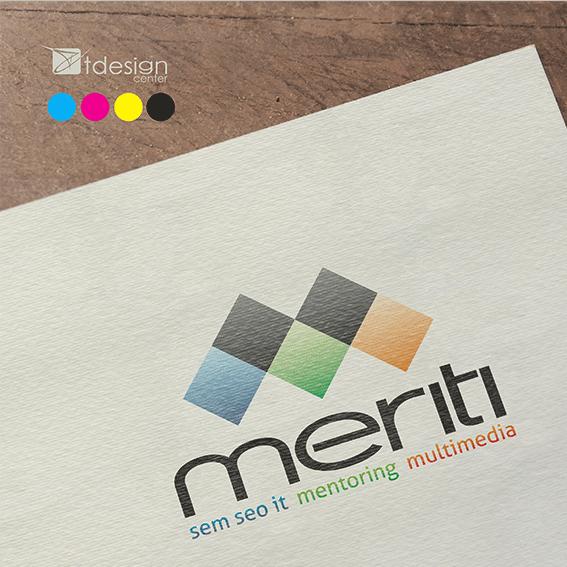 Logo stworzone dla firmy Meriti
