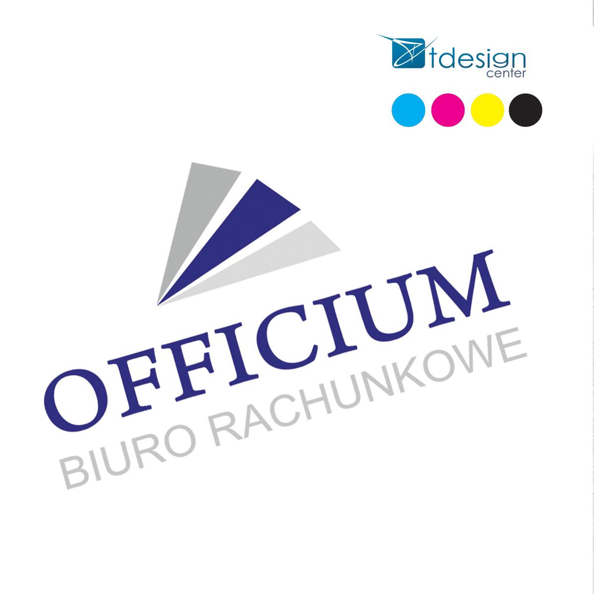 Logo stworzone dla Officium Biura Rachunkowego