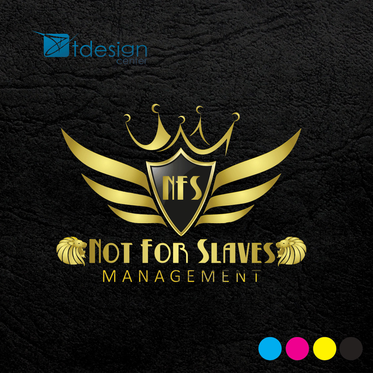 Logo stworzone dla firmy Not For Slaves