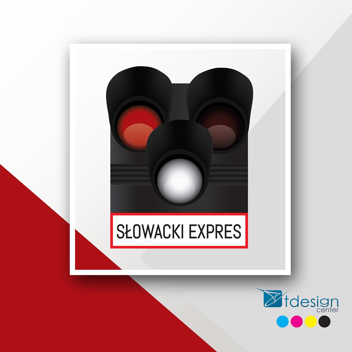 Logo stworzone dla Słowacki Express