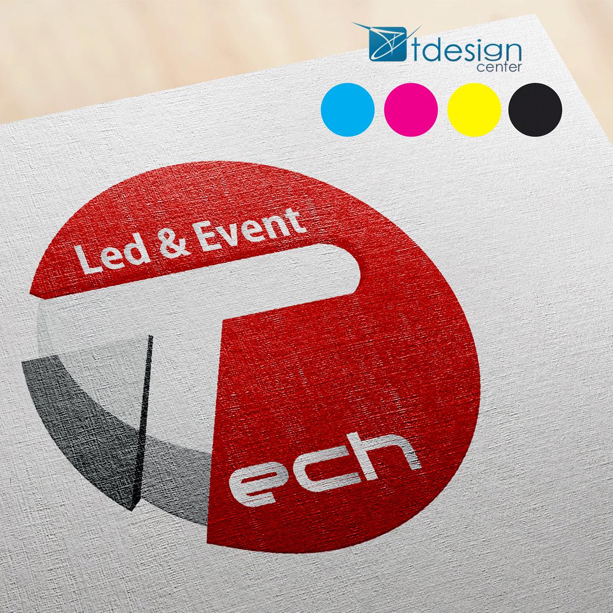 Logo wykonane dla firmy ElektroTech