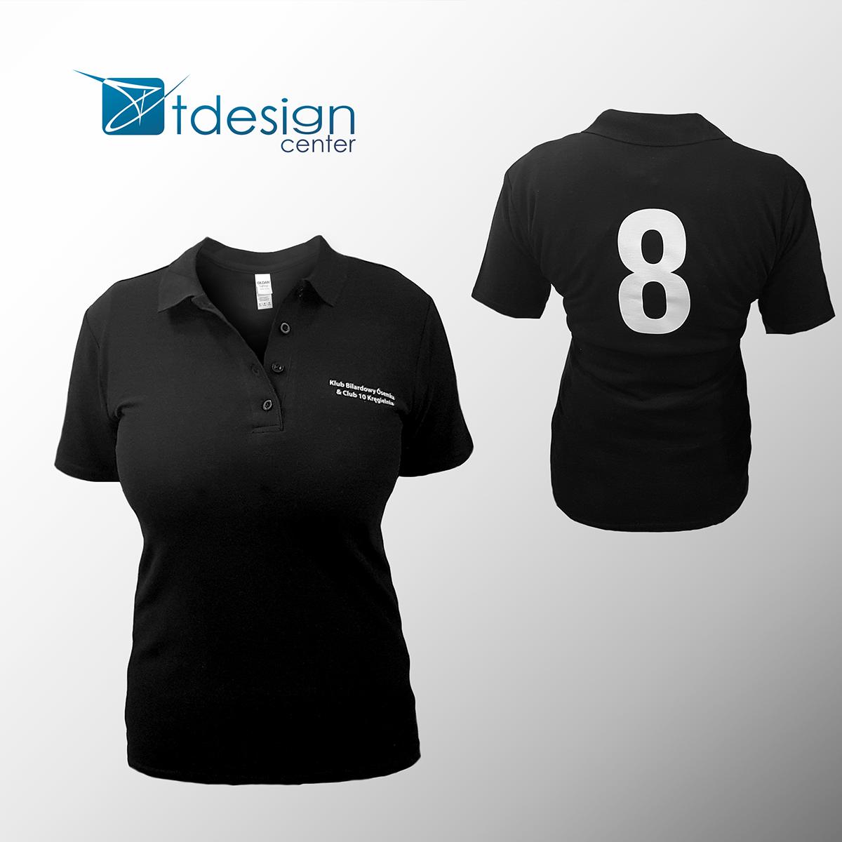Koszulka Polo z nadrukiem - projekt + realizacja
