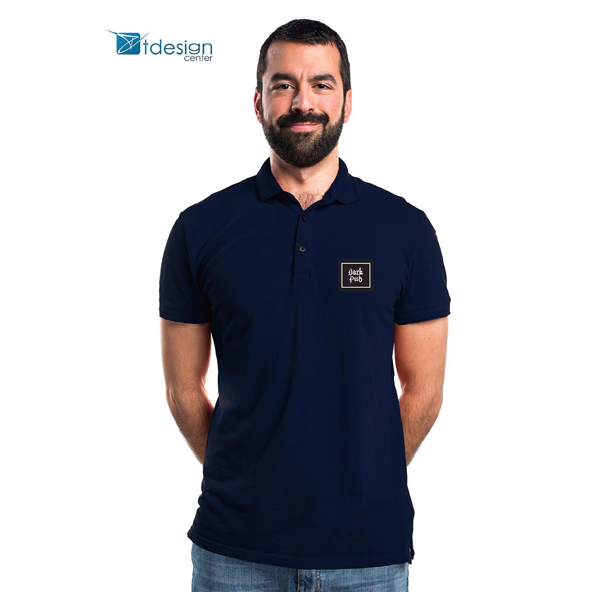 Koszulki polo z nadrukiem - projekt + realizacja