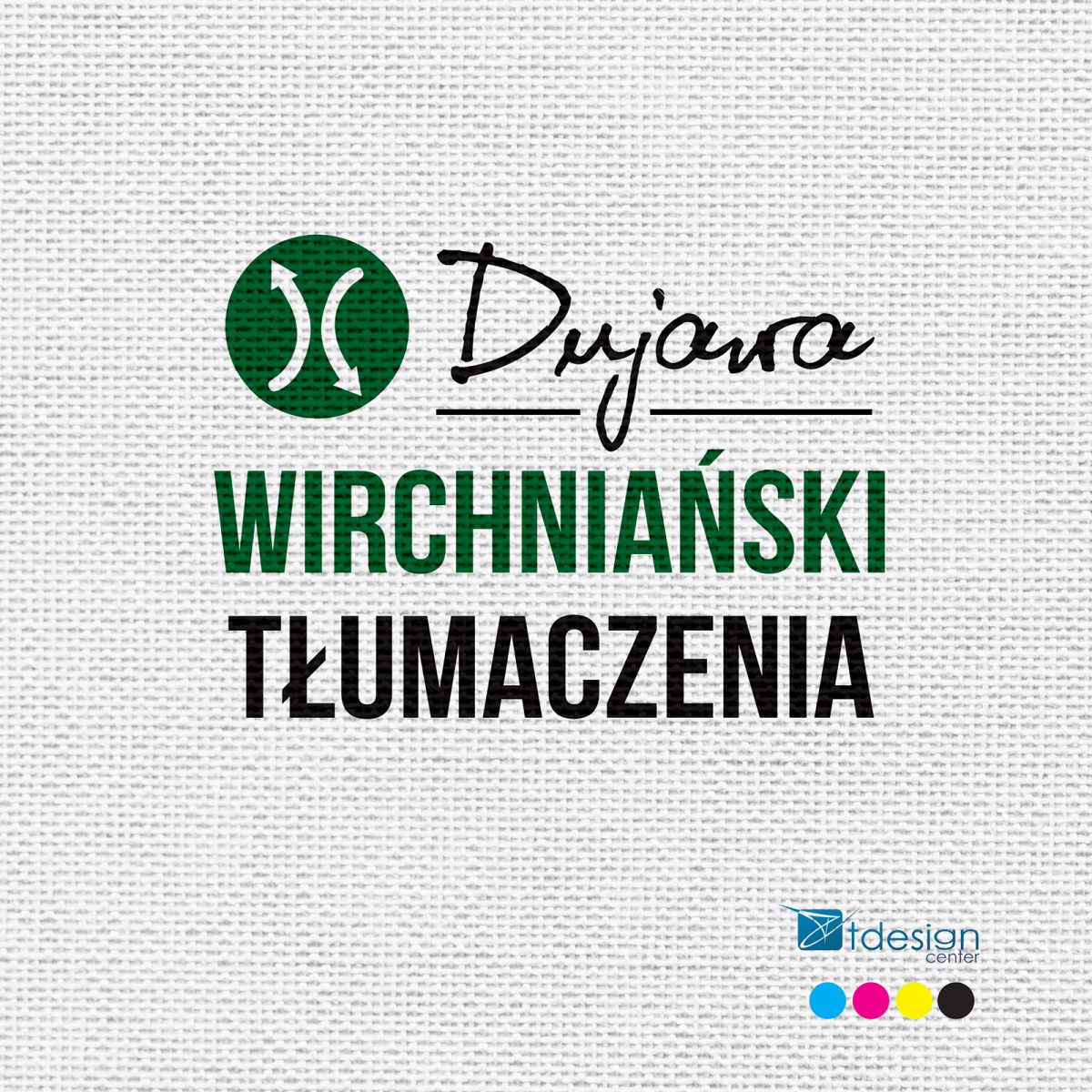 Logo wykonane dla firmy Dujawa WIRCHNIAŃSKI Tłumaczenia