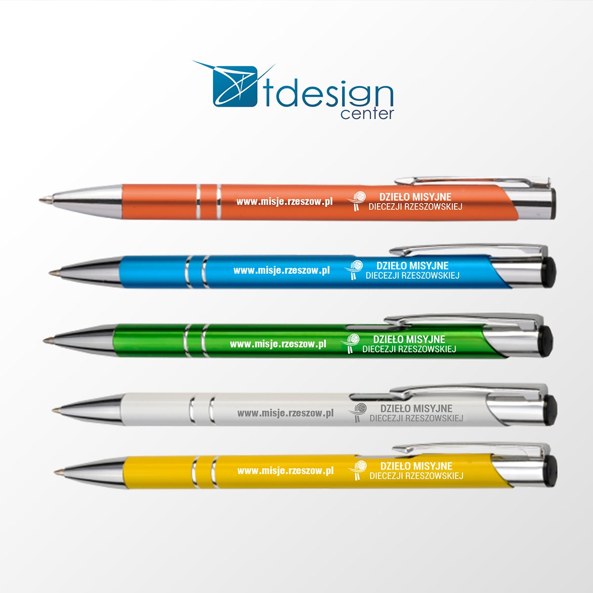 Długopisy - projekt + realizacja