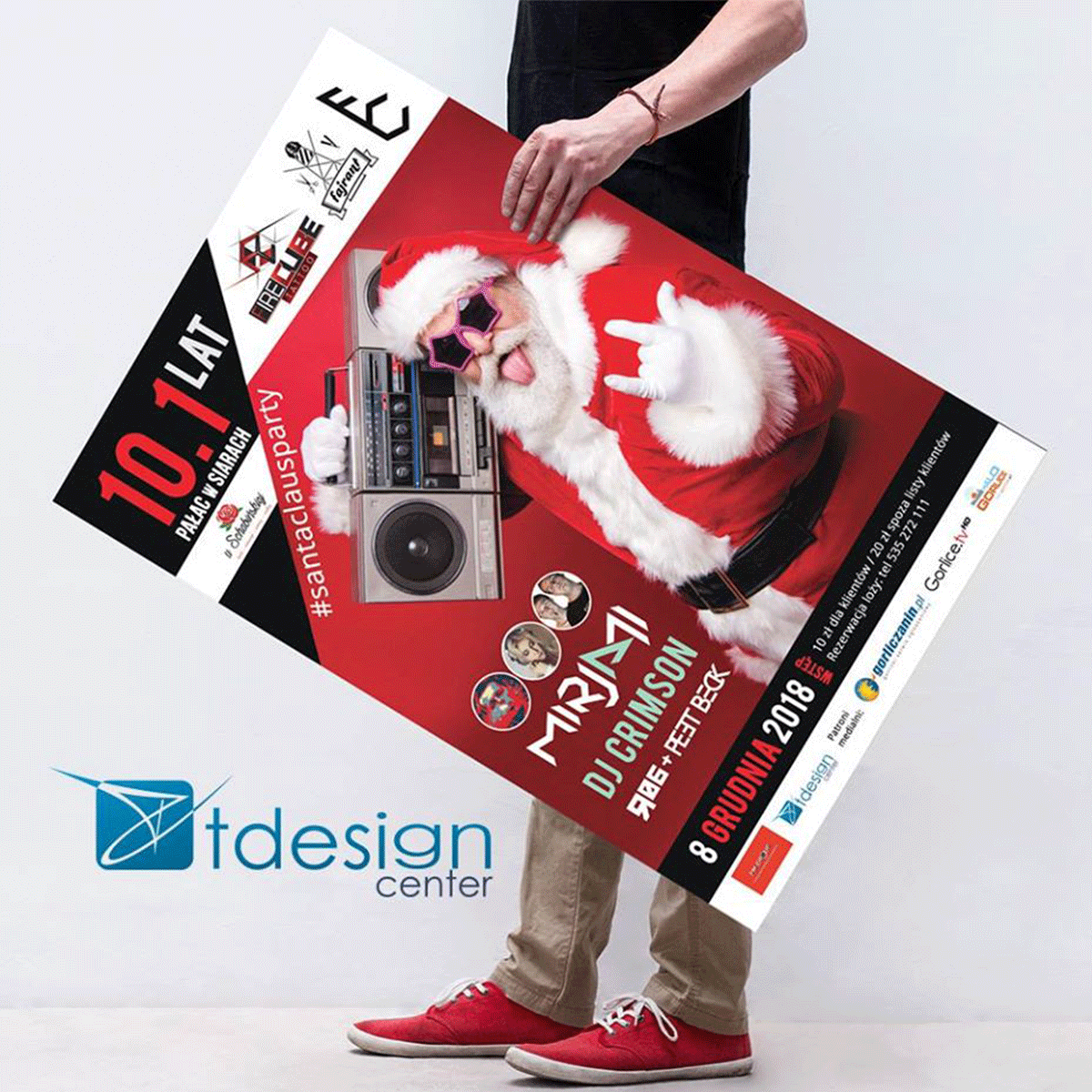 Plakat A1, projekt+druk