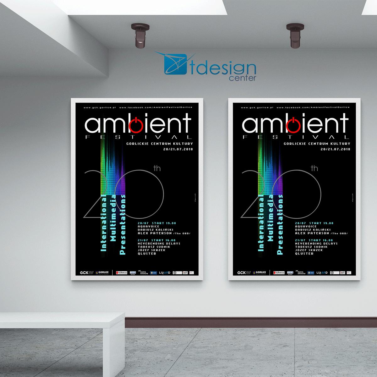 Plakat A1, druk zrealizowany dla Gorlickiego Centrum Kultury