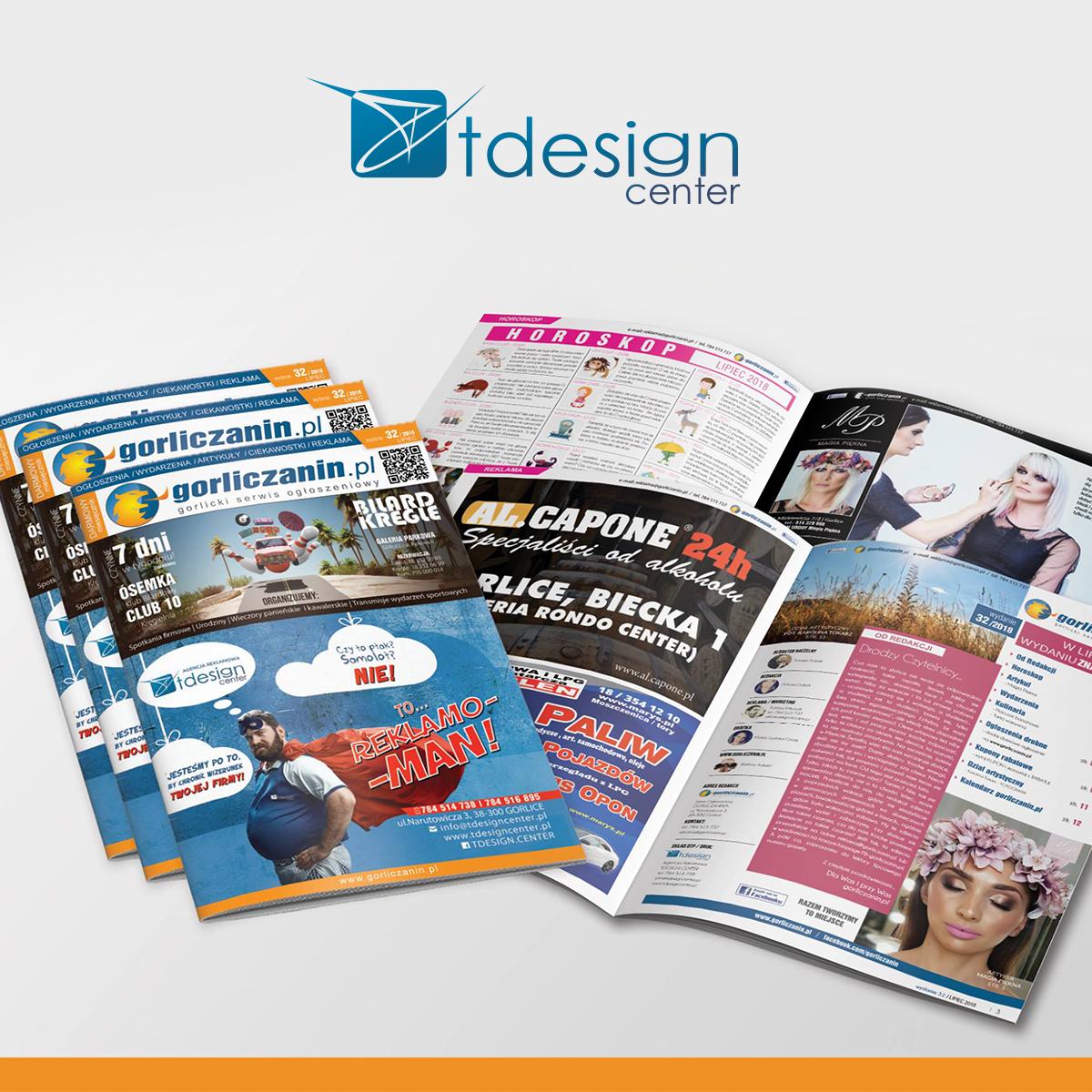 Skład DTP + druk , gorliczanin.pl wydanie 32