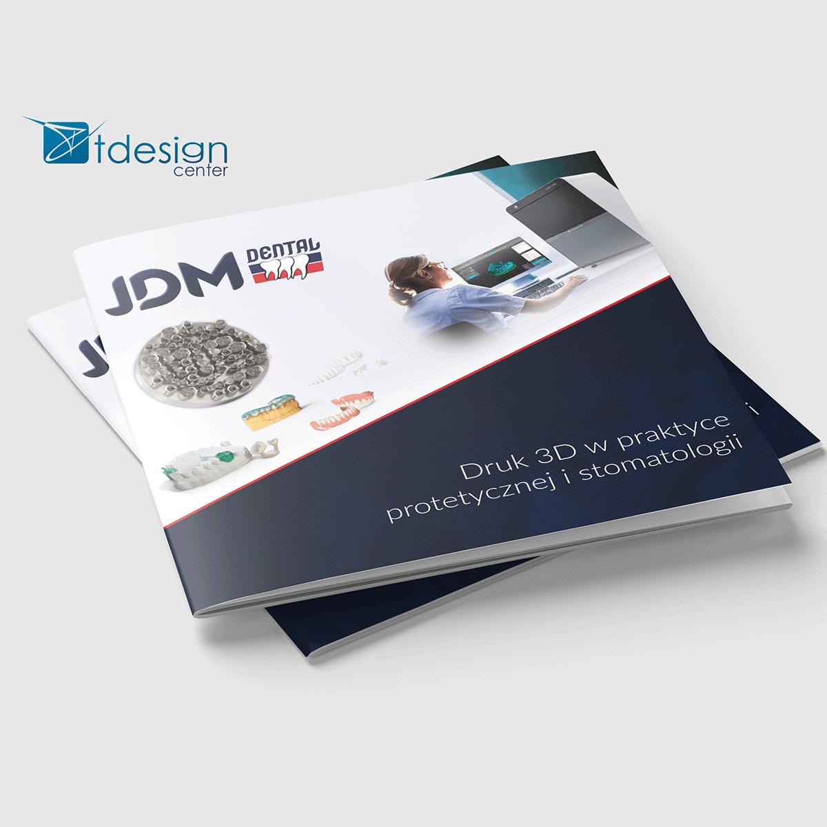 Skład DTP, katalog JDM 16 str., wraz z drukiem