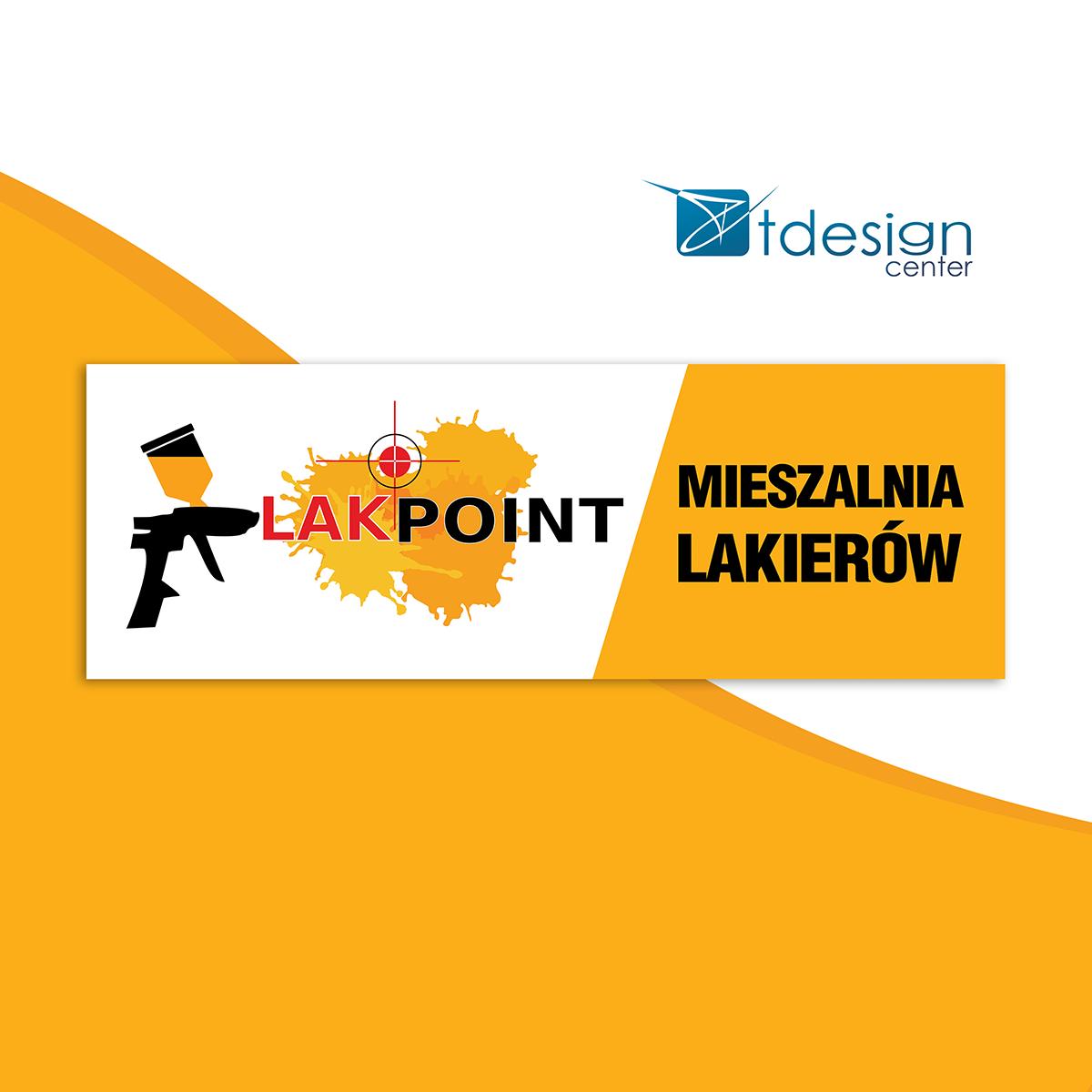 Pleksi opal 3mm, 2000x685cm - projekt+realizacja dla firmy LakPoint