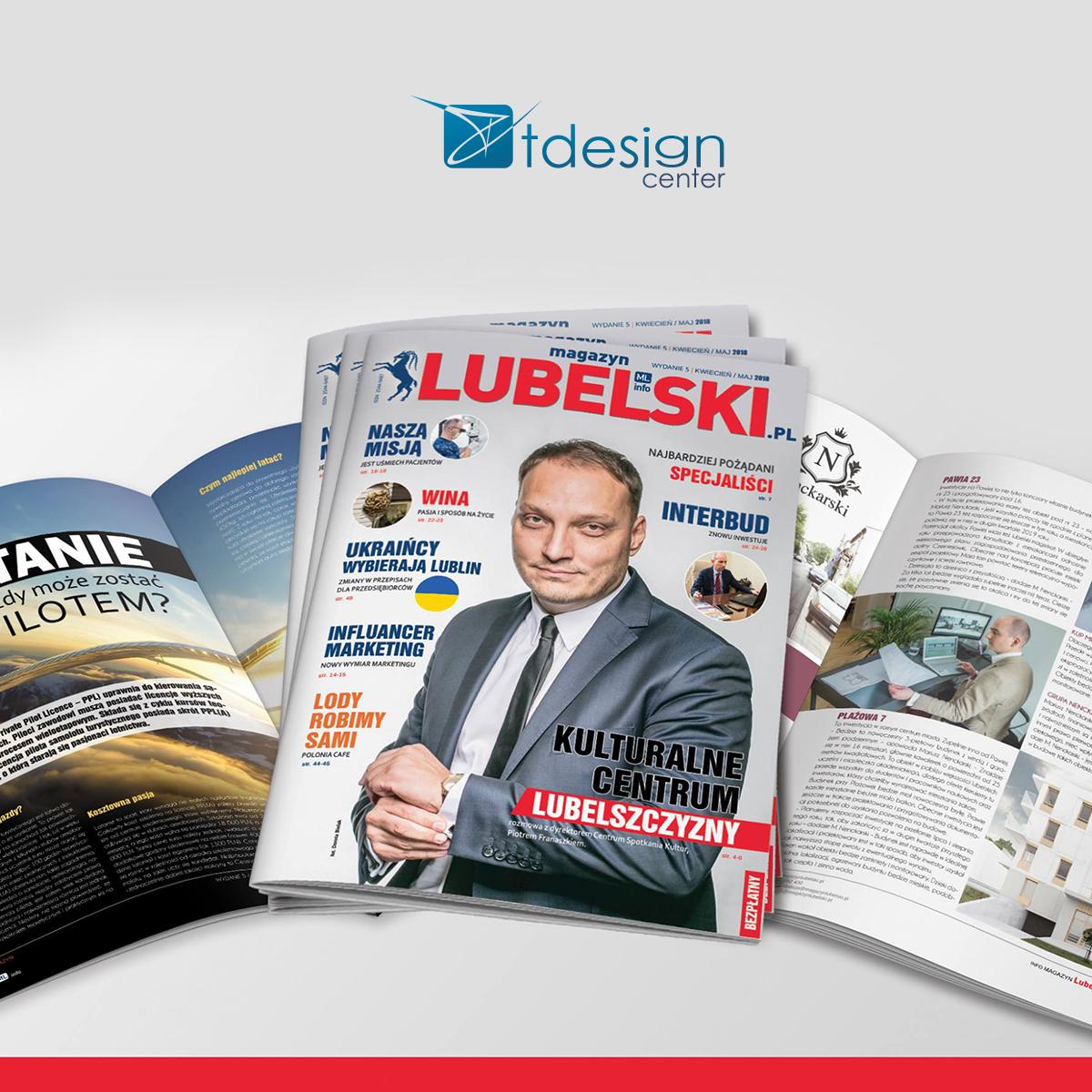 Magazyn Lubelski - SKŁAD DTP + druk