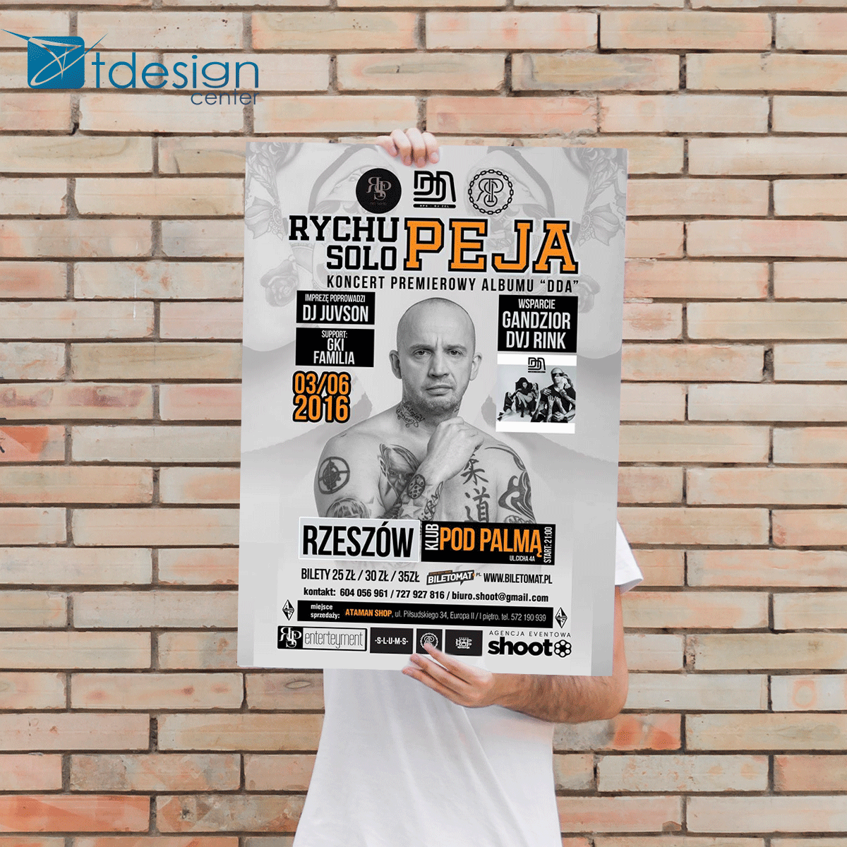 Plakat, projekt
