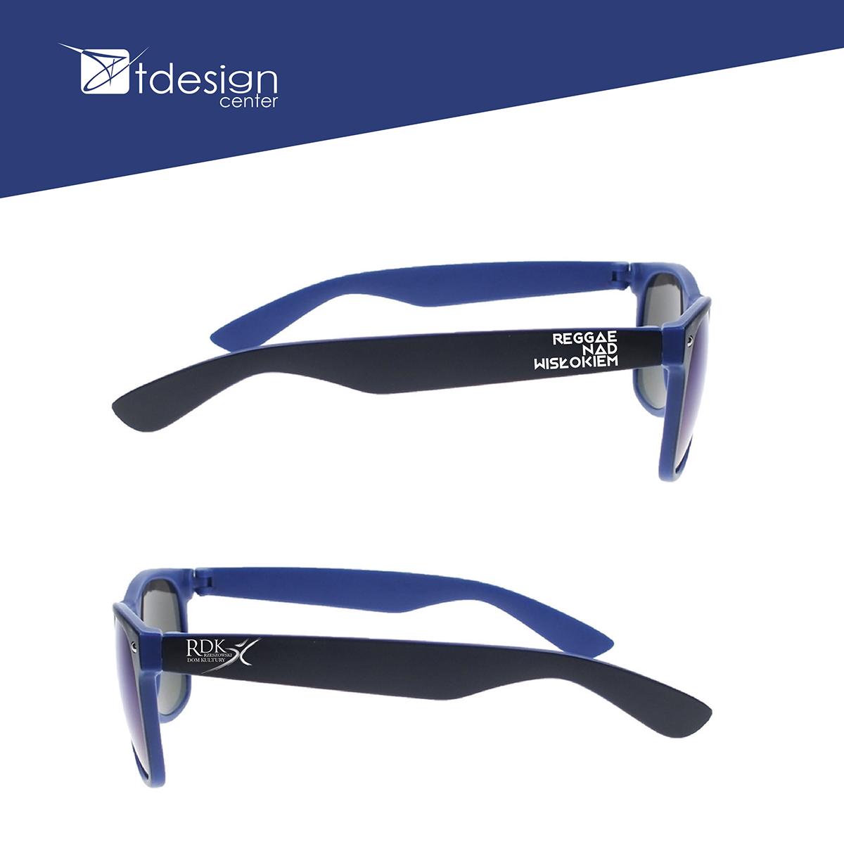 Okulary przeciwsłoneczna - projekt + realizacja