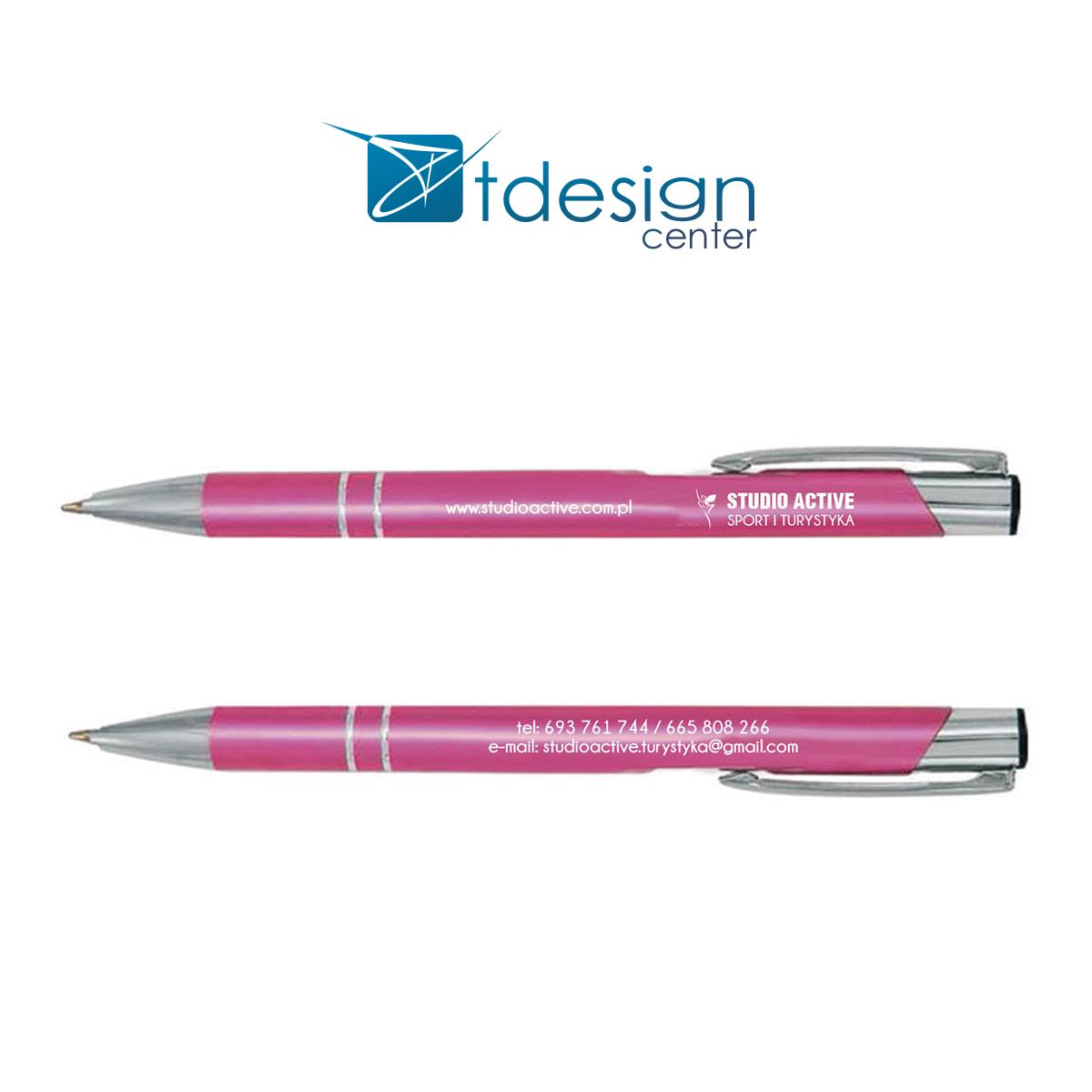 Długopisy z nadrukiem - projekt + realizacja