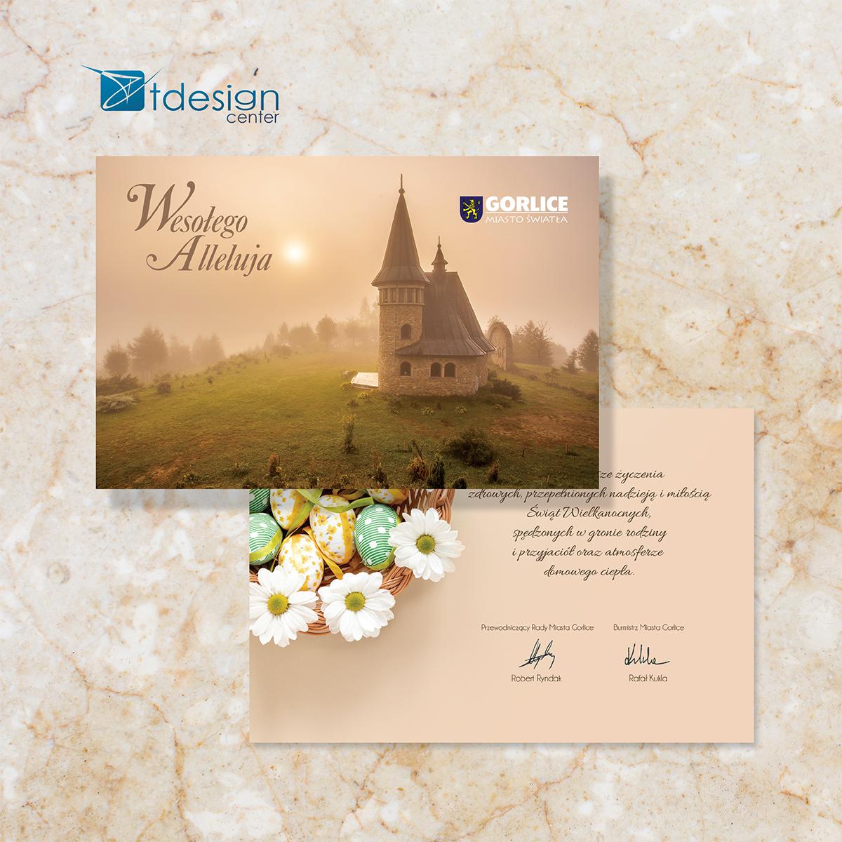 Kartka/pocztówka 150x98m - projekt + druk