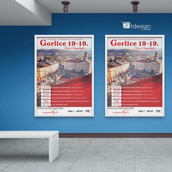 Plakat A2, projekt+druk