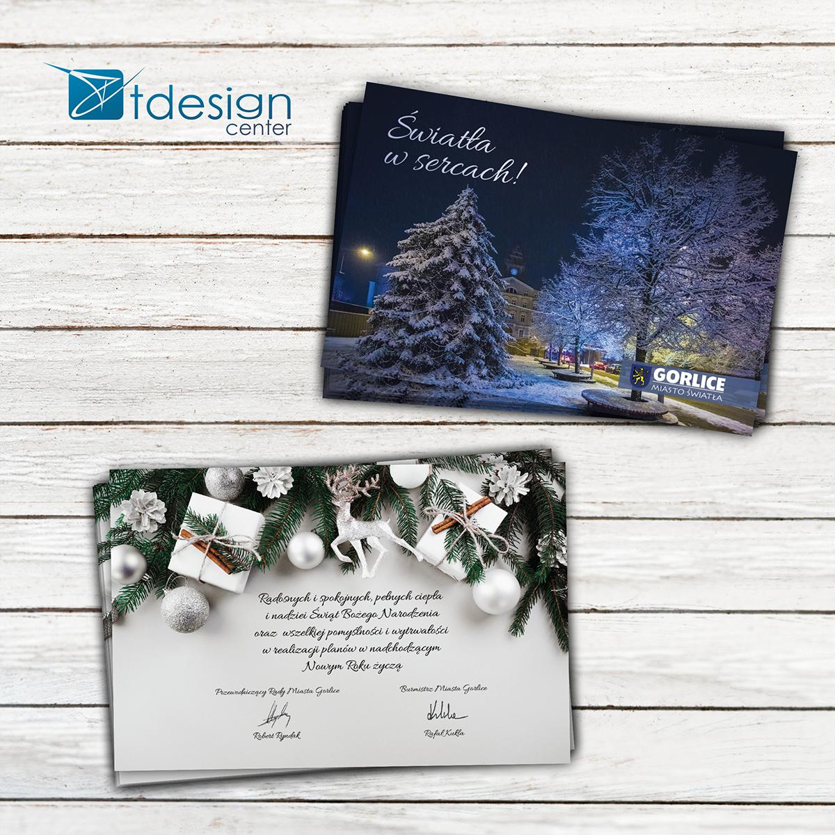 Kartka pocztowa/pocztówka, - projekt + druk