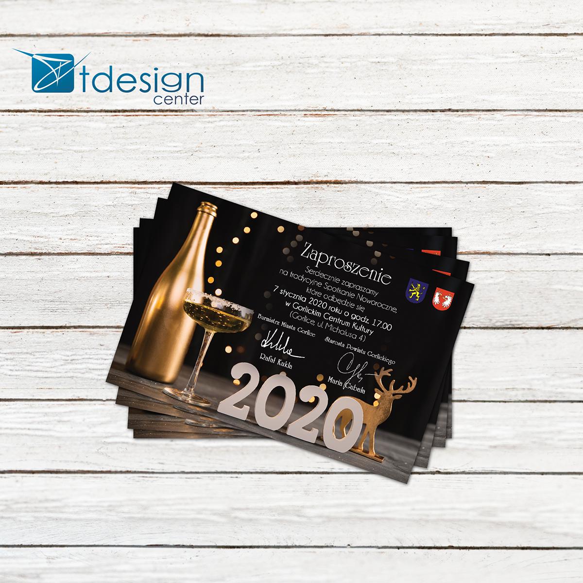 Kartka pocztowa/zaproszenie 150x98mm - projekt + druk